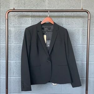 NWT J. Crew Black Bistretch Wool Suit Jacket